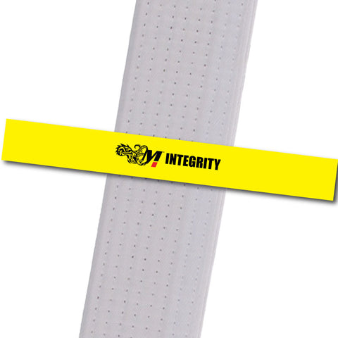 Motive Jiu Jitsu - Integrity Custom Belt Stripes - BeltStripes.com : The #1 Source for Martial Arts Belt Tape