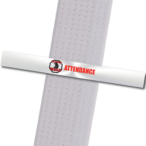 New Tradition - Attendance Custom Belt Stripes - BeltStripes.com : The #1 Source for Martial Arts Belt Tape
