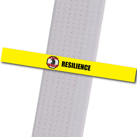 New Tradition - Resilience - Black Custom Belt Stripes - BeltStripes.com : The #1 Source for Martial Arts Belt Tape