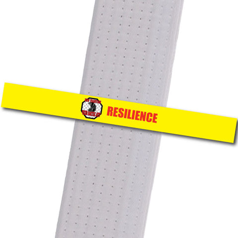 New Tradition - Resilience - Red Custom Belt Stripes - BeltStripes.com : The #1 Source for Martial Arts Belt Tape