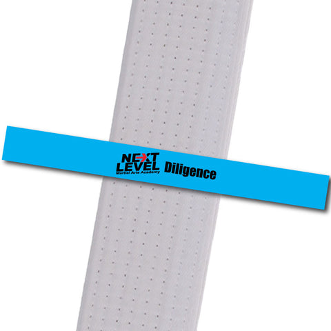 Next Level MA - Diligence Achievement Stripes - BeltStripes.com : The #1 Source for Martial Arts Belt Tape