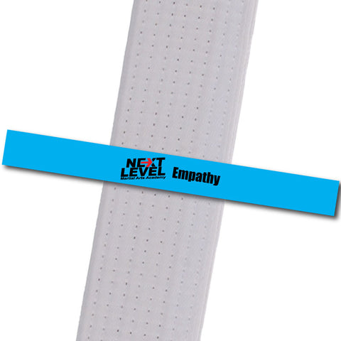 Next Level MA - Empathy Achievement Stripes - BeltStripes.com : The #1 Source for Martial Arts Belt Tape