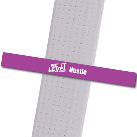 Next Level MA - Hustle Achievement Stripes - BeltStripes.com : The #1 Source for Martial Arts Belt Tape