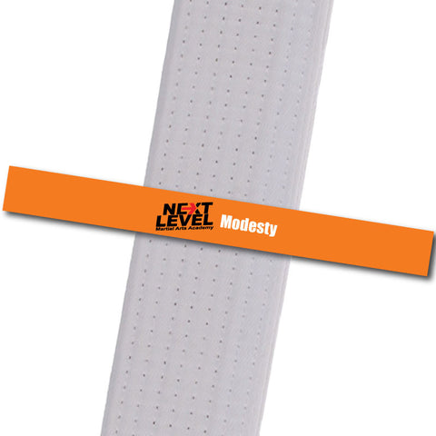 Next Level MA - Modesty Achievement Stripes - BeltStripes.com : The #1 Source for Martial Arts Belt Tape