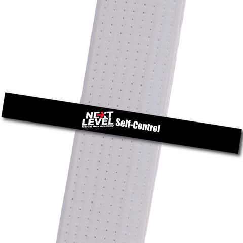Next Level MA - Self Control Achievement Stripes - BeltStripes.com : The #1 Source for Martial Arts Belt Tape