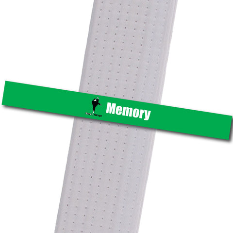 Next Step MA - Memory Custom Belt Stripes - BeltStripes.com : The #1 Source for Martial Arts Belt Tape
