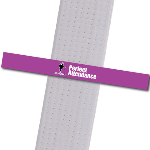 Next Step MA - Perfect Attendance Custom Belt Stripes - BeltStripes.com : The #1 Source for Martial Arts Belt Tape