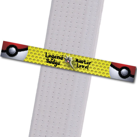 PokeStripes - Legend Badge - Master Level Achievement Stripes - BeltStripes.com : The #1 Source for Martial Arts Belt Tape