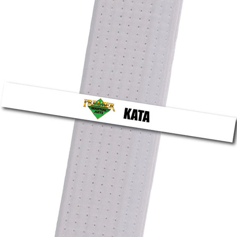 Premier MA Powder Springs - Kata Achievement Stripes - BeltStripes.com : The #1 Source for Martial Arts Belt Tape