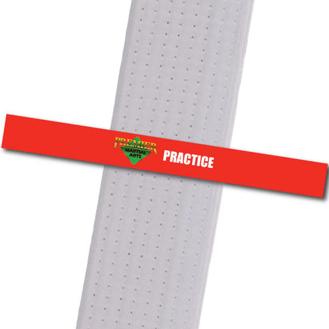 Premier MA Powder Springs - Practice Achievement Stripes - BeltStripes.com : The #1 Source for Martial Arts Belt Tape