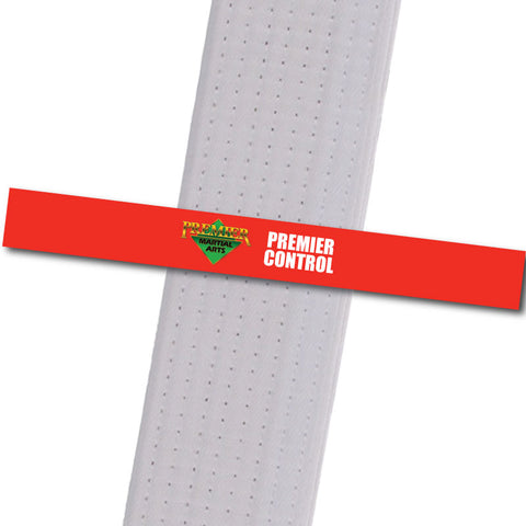 Premier Martial Arts - Premier Control Custom Belt Stripes - BeltStripes.com : The #1 Source for Martial Arts Belt Tape