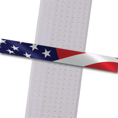 Achievement BeltStripes - American Flag Custom Belt Stripes - BeltStripes.com : The #1 Source for Martial Arts Belt Tape