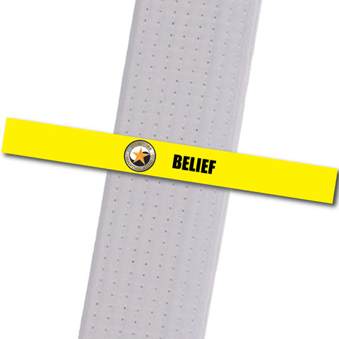 Prestige MA - Belief Achievement Stripes - BeltStripes.com : The #1 Source for Martial Arts Belt Tape