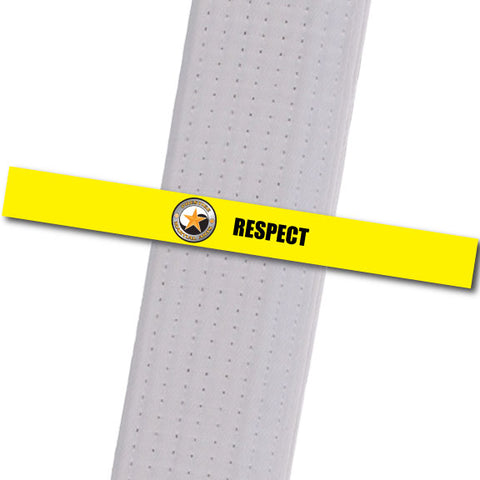 Prestige MA - Respect Achievement Stripes - BeltStripes.com : The #1 Source for Martial Arts Belt Tape