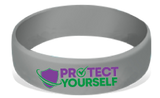MatChats - Protect Yourself - Silicone Wrist Bands - Level 4: Champion