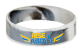 MatChats - Rise Above - Silicone Wrist Bands - Level 4: Champion