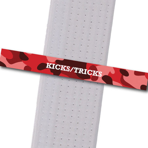 Rising Phoenix - Kicks/Tricks Custom Belt Stripes - BeltStripes.com : The #1 Source for Martial Arts Belt Tape