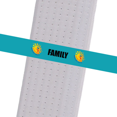 Rising Sun BeltStripes - Family Rising Sun Stripes - BeltStripes.com : The #1 Source for Martial Arts Belt Tape