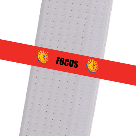 Rising Sun BeltStripes - Focus Rising Sun Stripes - BeltStripes.com : The #1 Source for Martial Arts Belt Tape