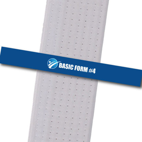 Sensei Ash MA - Basic Form #4 Achievement Stripes - BeltStripes.com : The #1 Source for Martial Arts Belt Tape