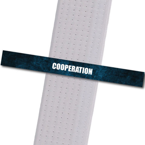 Shepherd-Warrior MA - Cooperation Custom Belt Stripes - BeltStripes.com : The #1 Source for Martial Arts Belt Tape