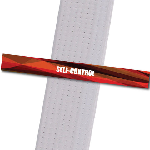 Shepherd-Warrior MA - Self-Control Custom Belt Stripes - BeltStripes.com : The #1 Source for Martial Arts Belt Tape