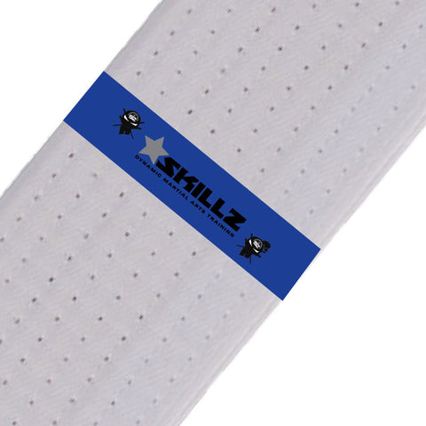 SKILLZ Belt Stripes - Blue - BeltStripes.com