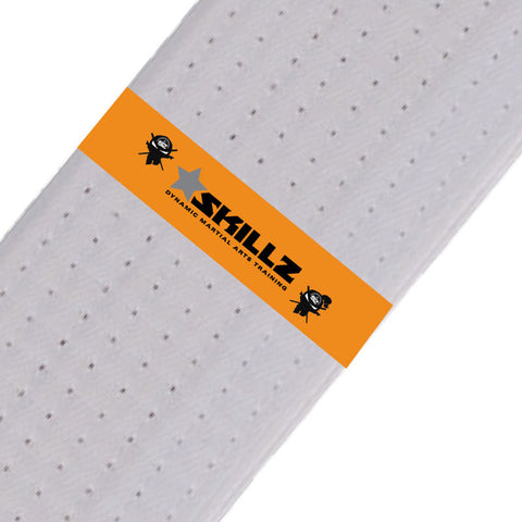 SKILLZ Belt Stripes - Orange Skillz Belt Stripes - BeltStripes.com : The #1 Source for Martial Arts Belt Tape