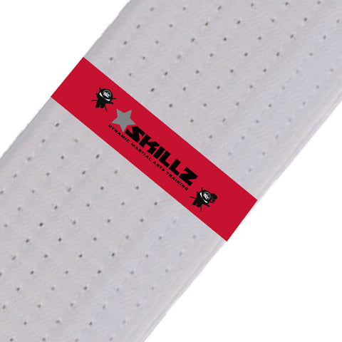 SKILLZ Belt Stripes - Red Skillz Belt Stripes - BeltStripes.com : The #1 Source for Martial Arts Belt Tape