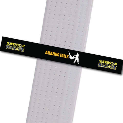 Superstar Karate - Amazing Falls - BeltStripes.com