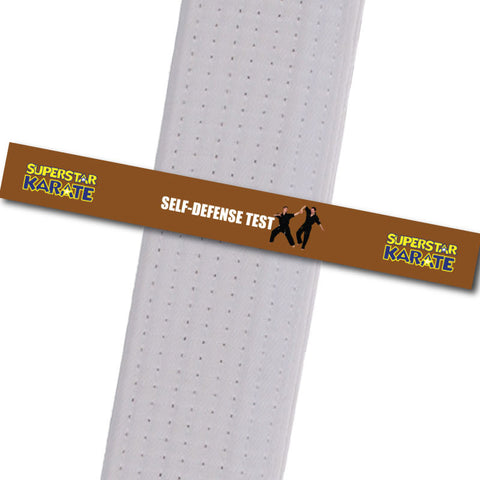 Superstar Karate - Self-Defense Test - BeltStripes.com