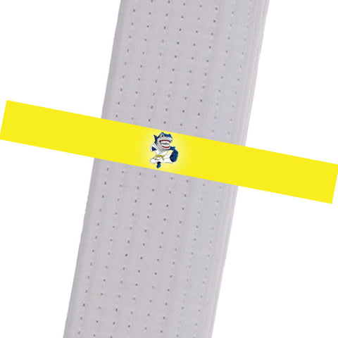 TCK Mixed Martial Arts - BULL-Yellow Custom Belt Stripes - BeltStripes.com : The #1 Source for Martial Arts Belt Tape