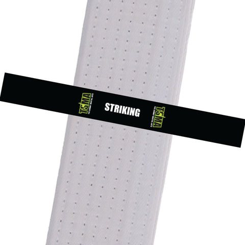 TSMA BeltStripes - Striking Custom Belt Stripes - BeltStripes.com : The #1 Source for Martial Arts Belt Tape