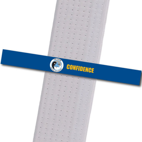 The POUND MA - Confidence Custom Belt Stripes - BeltStripes.com : The #1 Source for Martial Arts Belt Tape