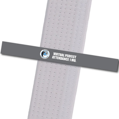 The POUND MA - Virtual Perfect Attendance 1 Custom Belt Stripes - BeltStripes.com : The #1 Source for Martial Arts Belt Tape