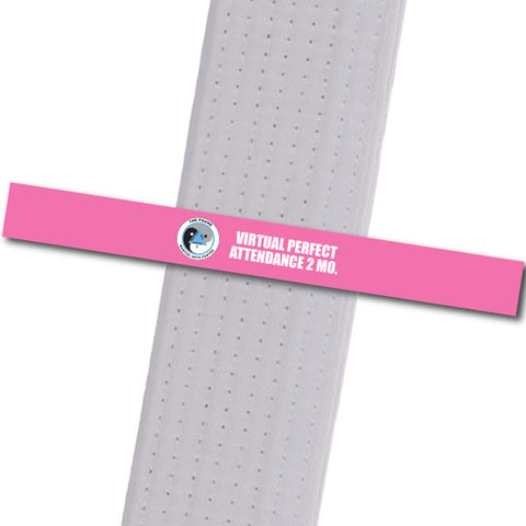 The POUND MA - Virtual Perfect Attendance 2 Custom Belt Stripes - BeltStripes.com : The #1 Source for Martial Arts Belt Tape