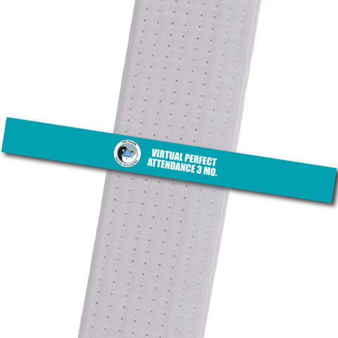 The POUND MA - Virtual Perfect Attendance 3 Custom Belt Stripes - BeltStripes.com : The #1 Source for Martial Arts Belt Tape