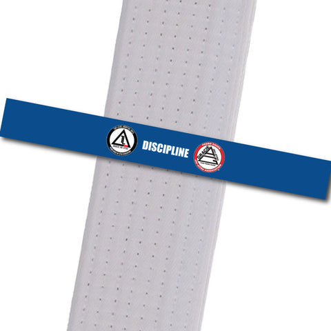 Top Level Martial Arts - Discipline Custom Belt Stripes - BeltStripes.com : The #1 Source for Martial Arts Belt Tape