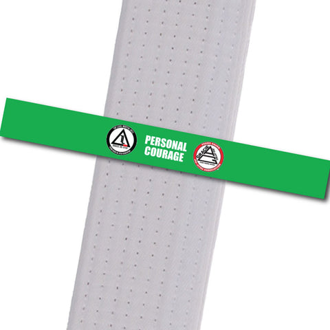 Top Level Martial Arts - Personal Courage Custom Belt Stripes - BeltStripes.com : The #1 Source for Martial Arts Belt Tape