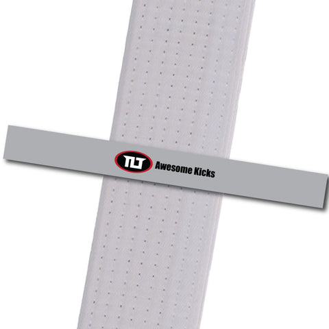 Top Level TKD - Awesome Kicks Custom Design Program - BeltStripes.com : The #1 Source for Martial Arts Belt Tape