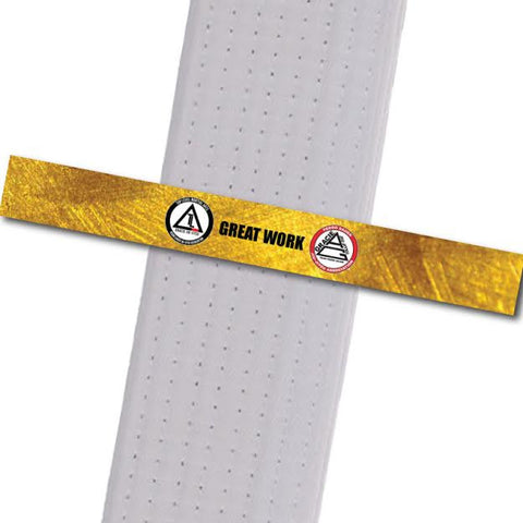 Top Level Martial Arts - Great Work Custom Belt Stripes - BeltStripes.com : The #1 Source for Martial Arts Belt Tape