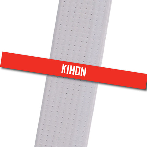 Traditional Karate Stripes - Kihon Achievement Stripes - BeltStripes.com : The #1 Source for Martial Arts Belt Tape