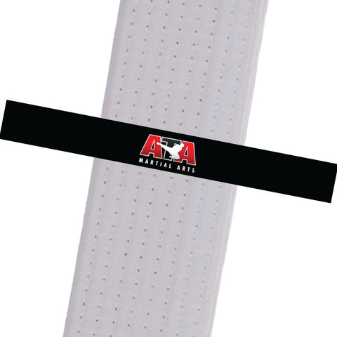 Triple Crown Martial Arts - Black Custom Belt Stripes - BeltStripes.com : The #1 Source for Martial Arts Belt Tape