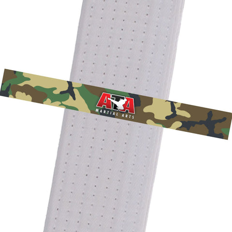 Triple Crown Martial Arts - Camo Custom Belt Stripes - BeltStripes.com : The #1 Source for Martial Arts Belt Tape