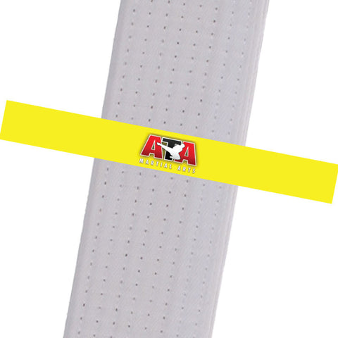 Triple Crown Martial Arts - Yellow Custom Belt Stripes - BeltStripes.com : The #1 Source for Martial Arts Belt Tape
