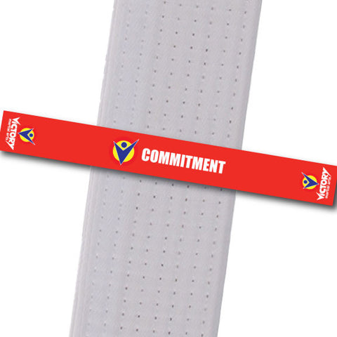 Victory Martial Arts - Commitment Achievement Stripes - BeltStripes.com : The #1 Source for Martial Arts Belt Tape