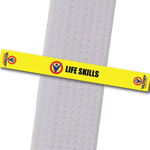 Victory Martial Arts - Life Skills Achievement Stripes - BeltStripes.com : The #1 Source for Martial Arts Belt Tape