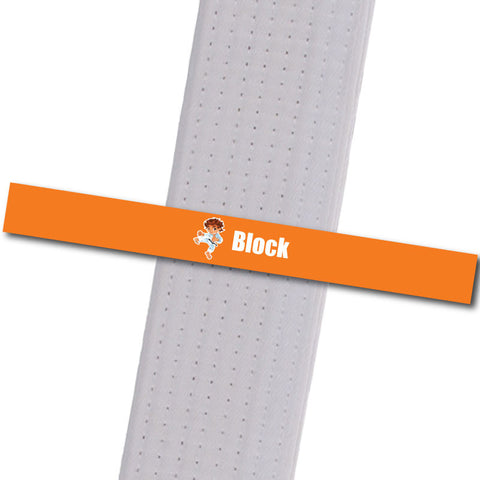 Apexx MA - Little Leaders - Block Custom Design Program - BeltStripes.com : The #1 Source for Martial Arts Belt Tape