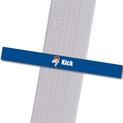Apexx MA - Little Leaders - Kick Custom Design Program - BeltStripes.com : The #1 Source for Martial Arts Belt Tape