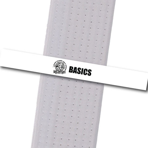 White Tiger MMA - Basics Custom Belt Stripes - BeltStripes.com : The #1 Source for Martial Arts Belt Tape
